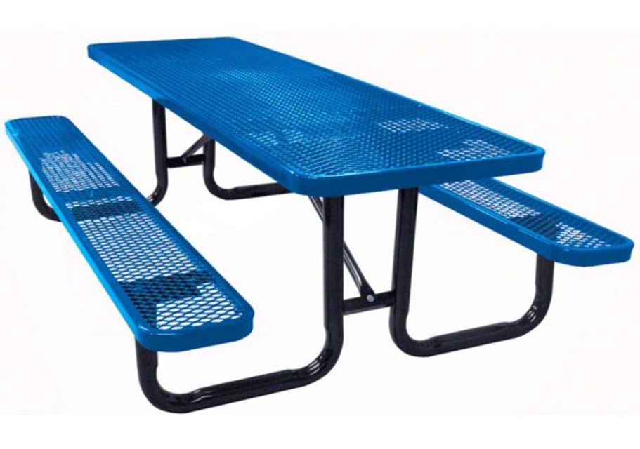 6' and 12' Rectangle Commercial Grade Picnic Table